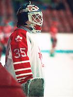 Andy Moog Team Canada. Photo copyright F. Scott Grant