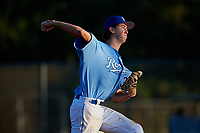 Austin Pace during the WWBA World Championship at the Roger Dean Complex on October 21, 2018 in Jupiter, Florida.  Austin Pace is a right handed pitcher from Barco, North Carolina who attends Currituck County High School and is committed to North Carolina State.  (Mike Janes/Four Seam Images)
