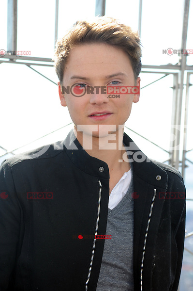 NEW YORK, NY - OCTOBER 16: Conor Maynard visits the Empire State Building in New York City. October 16, 2012. © mpi01/MediaPunch Inc /NortePhoto