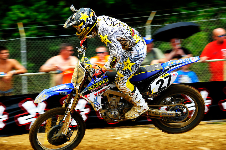 Nick Wey during the first moto of the 450 class during the Lucas Oil AMA Pro Motocross at Budds Creek National in Mechanicsville, Maryland on Saturday, June 18, 2011. Alan P. Santos/DC Sports Box