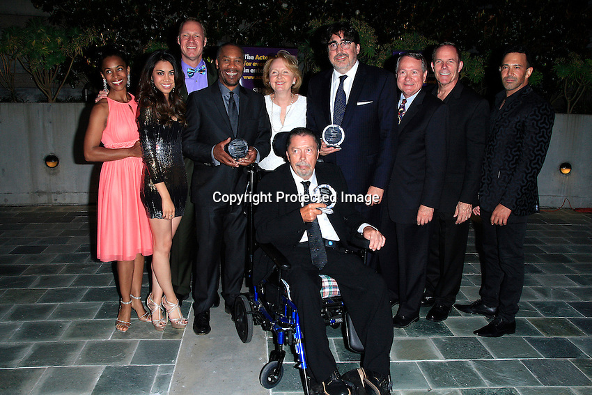 LOS ANGELES - JUN 7: Western Council, Joe Morton, Kate Burton, Alfred Molina, Tim Curry at the Actors Fund's 19th Annual Tony Awards Viewing Party at the Skirball Cultural Center on June 7, 2015 in Los Angeles, CA