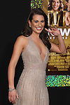 """LEA MICHELE. World Premiere of Warner Brothers Pictures' """"New Year's Eve,"""" at Grauman's Chinese Theatre. Hollywood, CA USA. December 5, 2011.©CelphImage"""