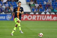 Sergio Busquets of FC Barcelona during the match between CD Leganes v FC Barcelona of LaLiga, date 6, 2018-2019 season. Municipal de Butarque Stadium. Madrid, Spain - 26 SEP 2018.