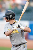 West Virginia Power third baseman Mat Gamel stands in at the plate versus the Greensboro Grasshoppers at First Horizon Park in Greensboro, NC, Wednesday, August 23, 2006.