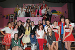 The cast of Grease performed by Ardee Community school at Ardee Parish Centre. Photo: Colin Bell/pressphotos.ie