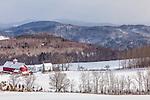 The Bogie Mountain Farm in Barnet, Vermont, USA