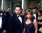 Steve and Paula Jones attend a party prior to the White House Correspondents Dinner at the Washington Hilton Hotel in Washington, DC on April 25, 1998.<br /> Credit: Ron Sachs / CNP