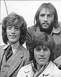 Bee Gees 1970 Robin Gibb, Maurice Gibb and Barry Gibb..© Chris Walter..