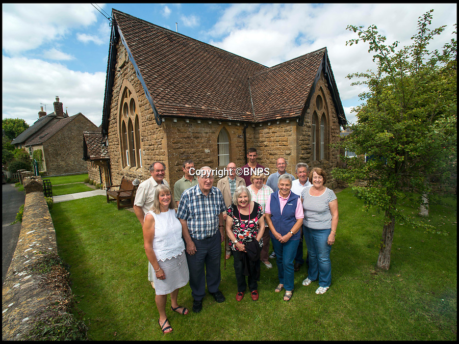 BNPS.co.uk (01202 558833)<br /> Pic: TomWren/BNPS<br /> <br /> Born and bred villagers outside the former school...now the village hall.<br /> <br /> The little changed Somerset village of Chiselborough whose residents have pieced together their history in photographs.<br /> <br /> A rural village's community has painstakingly put together its social history over the last 40 years, which is now going on display.<br /> <br /> Tony and June Perry first started collecting images of Chiselborough, in south Somerset, 40 years ago for the project which celebrates the village's people, traditions and buildings.<br /> <br /> Dozens of villagers have helped the couple compile 600 photos which are finally going to be shown in a new exhibition.<br /> <br /> The images, which date back to the 1860s, highlight many notable events in Chiselborough's history including the fire of 1890 which saw the pub burn down.<br /> <br /> Other photos show the silver jubilee party of 1935, a school fancy dress day in 1954 and the renovation of the village's 12th century church in 1971.<br /> <br /> Situated on the River Parrett, Chiselborough is five miles west of Yeovil and has a population of just 275 people.