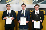 "Boys Swimming finalists Orinoco Fa""amausili-Banse-Prince, Kurt Bassett & Daniel BellASB College Sport Young Sportperson of the Year Awards 2007 held at Eden Park on November 15th, 2007."