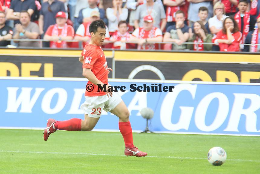 Shinji Okazaki (Mainz) - 1. FSV Mainz 05 vs. 1. FC Nürnberg, Coface Arena,