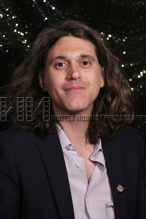 Lucas Hnath attends the 2017 Tony Awards Meet The Nominees Press Junket at the Sofitel Hotel on May 3, 2017 in New York City.