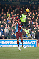 Jonathan Forte of Oldham Athletic<br />  - Scunthorpe United vs Oldham Athletic - Sky Bet League One Football at Glanford Park, Scunthorpe, Lincolnshire - 07/02/15 - MANDATORY CREDIT: Mark Hodsman/TGSPHOTO - Self billing applies where appropriate - contact@tgsphoto.co.uk - NO UNPAID USE