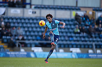Sido Jombati of Wycombe Wanderers during the Sky Bet League 2 match between Wycombe Wanderers and Yeovil Town at Adams Park, High Wycombe, England on 14 January 2017. Photo by Andy Rowland / PRiME Media Images.