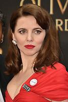 Ophelia Lovibond<br /> The Olivier Awards 2018 , arrivals at The Royal Albert Hall, London, UK -on April 08, 2018.<br /> CAP/PL<br /> &copy;Phil Loftus/Capital Pictures