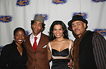 Cast of HOME - Kevin T. Carroll - Tracey Bonner & January LaVoy and director of the play Ron OJ Parson pose on opening night of the play HOME for Signature Theatre Company on December 7, 2008 at the after party at 44 1/2, New York, New York. (Photo by Sue Coflin/Max Photo)