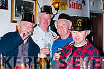 New Year 2018: Ringing in the new year at Mcarthy's Bar Finuge on sunday night last were Georgie Joy, Eamonn Breen, Paudie Horgan & Pat Joe O'Sullivan.