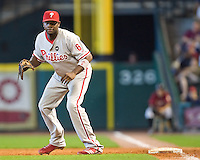 Howard, Ryan 6207.jpg Philadelphia Phillies at Houston Astros. Major League Baseball. September 7th, 2009 at Minute Maid Park in Houston, Texas. Photo by Andrew Woolley.