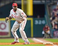 Howard, Ryan 6207.jpg Philadelphia Phillies at Houston Astros. Major League Baseball. September 7th, 2009 at Minute Maid Park in Houston, Texas. Photo by Andrew Woolley.