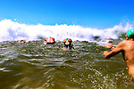Ocean Swim Bilgola The Big Swim Challenge Sunday 12th December 2010.Photo: Steve Christo