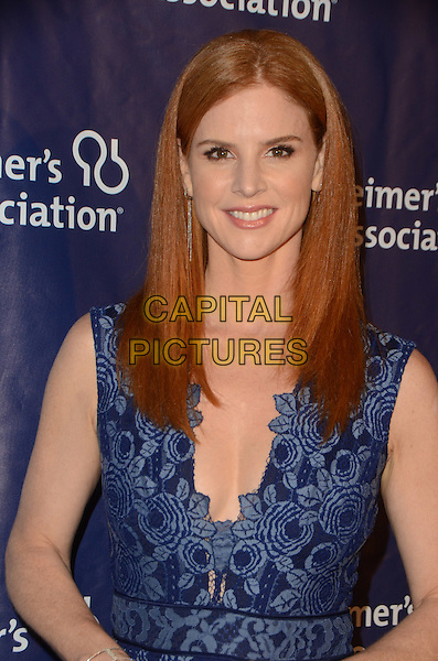 BEVERLY HILLS, CA: MARCH 9: Sarah Rafferty at the 24th and final 'A Night at Sardi's' to benefit the Alzheimer's Association at The Beverly Hilton Hotel on March 9, 2016 in Beverly Hills, California. <br /> CAP/MPI/DE<br /> &copy;DE//MPI/Capital Pictures