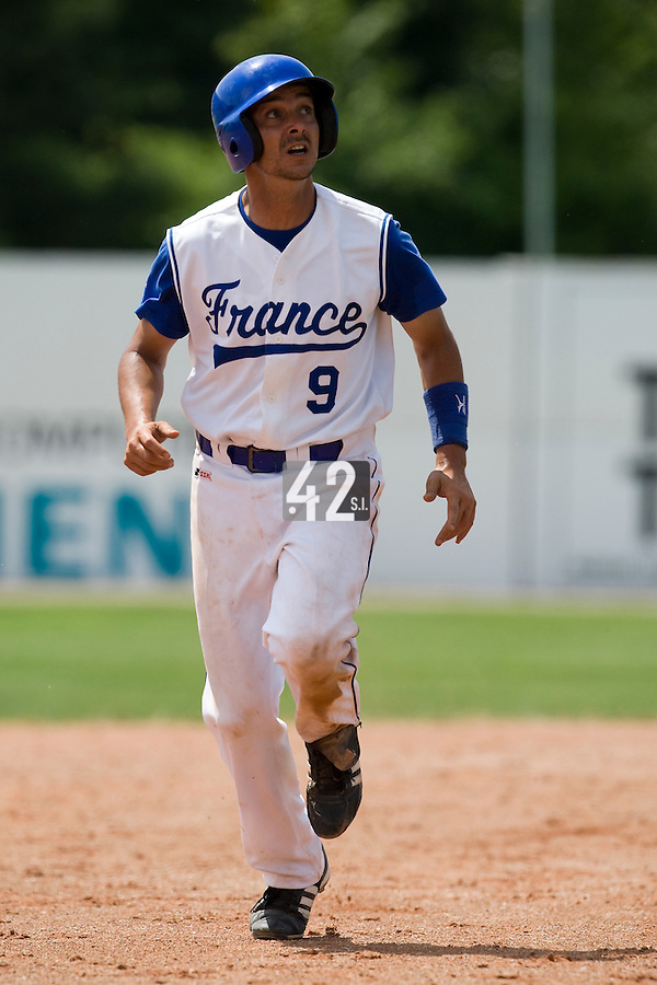 BASEBALL - GREEN ROLLER PARK - PRAGUE (CZECH REPUBLIC) - 25/06/2008 - PHOTO: CHRISTOPHE ELISE.ANTHONY MEURANT (TEAM FRANCE)