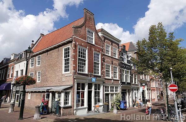 Nederland Delft - Augustus 2018. De Voorstraat in Delft.   Foto Berlinda van Dam / Hollandse Hoogte