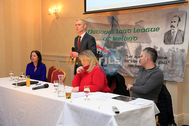 Finbar Markey At the launch of the National Land League in the West Court hotel.<br /> Picture www.newsfile.ie