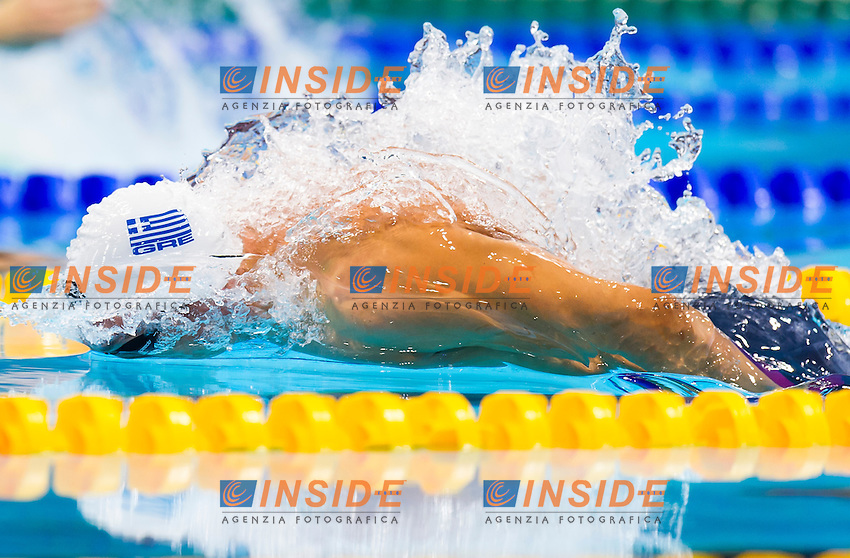 VAZAIOS Andreas GRE gold medal<br /> London, Queen Elizabeth II Olympic Park Pool <br /> LEN 2016 European Aquatics Elite Championships <br /> Swimming<br /> Men's 200m medley final  <br /> Day 10 18-05-2016<br /> Photo Giorgio Perottino/Deepbluemedia/Insidefoto