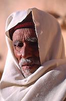 Tunisia Portrait of an old man