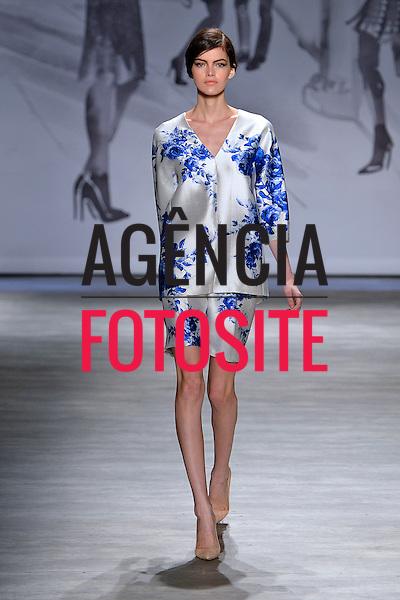 Nova Iorque, EUA &sbquo;09/2014 - Desfile de Lela Rose durante a Semana de moda de Nova Iorque  -  Verao 2015. <br /> <br /> Foto: FOTOSITE
