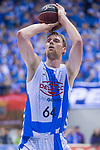 Gipuzkoa Basket Henk Norel during Liga Endesa match between San Pablo Burgos and Gipuzkoa Basket at Coliseum Burgos in Burgos, Spain. December 30, 2017. (ALTERPHOTOS/Borja B.Hojas)