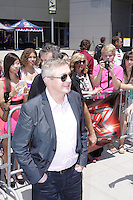 X-Factor judge, Louis Walsh, filling in for Simon Cowell, arrived and greeted fans Friday at the X-Factor auditions in Kansas City, Missouri. June 8, 2012. Credit: MediaPunch Inc. ***NO GERMANY***NO AUSTRIA***kcpf2012. MPIKC / Mediapunchinc NORTEPHOTO.COM