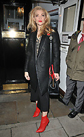 Natalie Dormer at the &quot;Venus in Fur&quot; evening performance theatre cast stage door departures, Theatre Royal Haymarket, Suffolk Street, London, England, UK, on Saturday 11 November 2017.<br /> CAP/CAN<br /> &copy;CAN/Capital Pictures