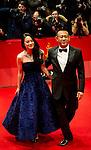 Actress Zhou Yun and Director Jiang Wen promotes his film Yi bu zhi yao during the LXV Berlin film festival, Berlinale at Potsdamer Straße in Berlin on February 11, 2015. Samuel de Roman / Photocall3000 / Dyd fotografos-DYDPPA.