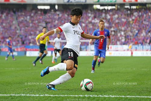 Yuki Muto (Reds), OCTOBER 24, 2015 - Football / Soccer : 2015 J1 League 2nd stage match between F.C.Tokyo 3-4 Urawa Red Diamonds at Ajinomoto Stadium in Tokyo, Japan. (Photo by AFLO)