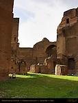 Baths of Caracalla Central Nymphaeum Aventine Hill Rome
