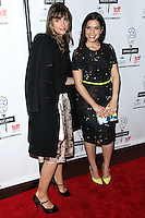 NEW YORK CITY, NY, USA - MAY 04: Amanda Peet, America Ferrera at the 29th Annual Lucille Lortel Awards held at the NYU Skirball Center on May 4, 2014 in New York City, New York, United States. (Photo by Jeffery Duran/Celebrity Monitor)