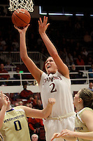 STANFORD, CA - JANUARY 16:  Jayne Appel of the Stanford Cardinal during Stanford's 66-51 win over the Washington Huskies on January 16, 2010 at Maples Pavilion in Stanford, California.