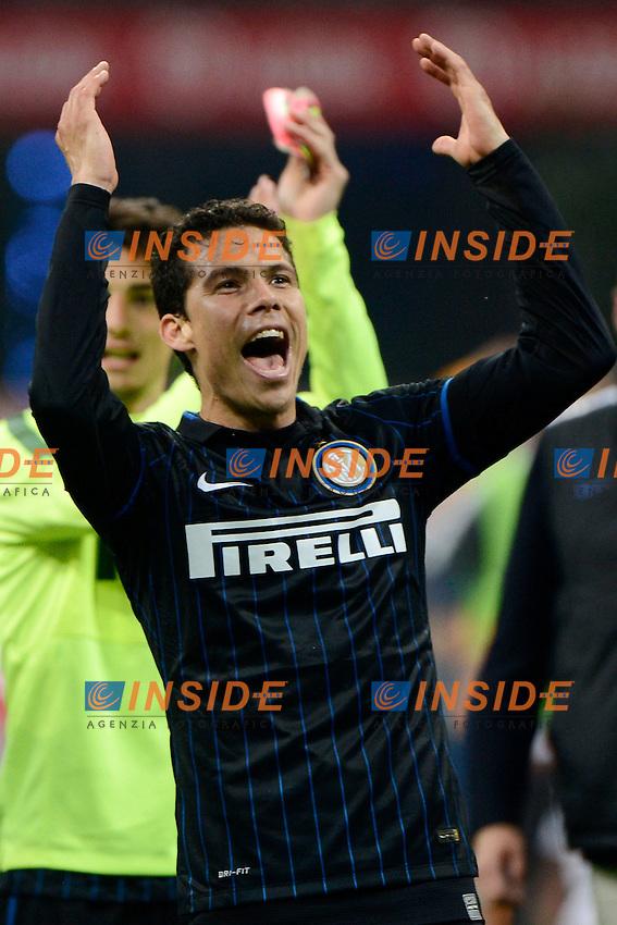 Hernanes Inter<br /> Milano 25-04-2015 Stadio Giuseppe Meazza - Football Calcio Serie A Inter - Roma. Foto Giuseppe Celeste / Insidefoto