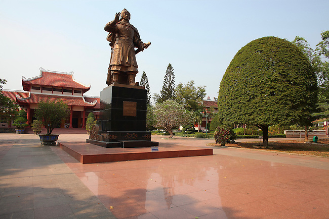 Quang Trung Museum. Tay Son District, Vietnam. April 27, 2016.