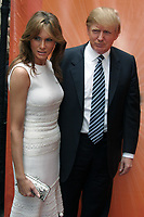 DONALD TRUMP AND MELANIA TRUMP 2005<br /> Photo By John Barrett/PHOTOlink.net