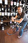 Alex Tinker owns 4 Flights Wine Botique in Norton Commons, a neighborhood in Louisville, Kentucky.