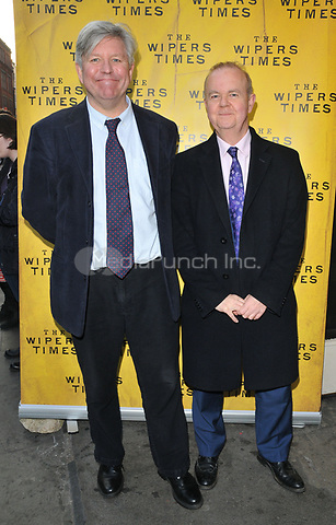 Nick Newman and Ian Hislop at the &quot;The Wipers Times&quot; press night, The Arts Theatre, Great Newport Street, London, England, UK, on Monday 27 March 2017.<br /> CAP/CAN<br /> &copy;CAN/Capital Pictures /MediaPunch ***NORTH AND SOUTH AMERICAS ONLY***