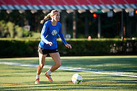 Beaverton, OR - Tuesday, September 29, 2015: FC Kansas City trains at the Bo Jackson Field on the Nike Campus prior to the NWSL Championship Game.