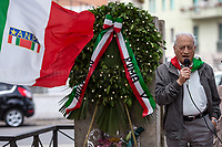 """Modesto Di Veglia (Antifascist Partizan. Member of the Partigiani: the Italian Resistance during WWII).<br /> <br /> Rome, 04/06/2018. On 4 June 1944 the American forces took possession of Rome, that Day will be remembered as the """"Liberazione di Roma"""". Today, to mark the 74th Anniversary of that day, Rome celebrates one of his most popular areas and """"Quartiere simbolo della Resistenza"""" (District symbol of the Resistance), Centocelle (Municipio V - https://bit.ly/2esBcBX), confering the State Gold Medal (for Civil Merit) for its Antifascist Resistance."""