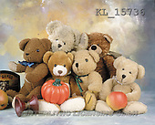 Interlitho, Alberto, CUTE ANIMALS, teddies, photos, teddies, pumpkin, apple(KL15736,#AC#)