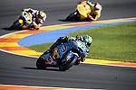 VALENCIA, SPAIN - NOVEMBER 11: Franco Morbidelli during Valencia MotoGP 2016 at Ricardo Tormo Circuit on November 11, 2016 in Valencia, Spain