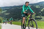 09.07.2019, Zell am Ziller, AUT, TL Werder Bremen Zell am Ziller / Zillertal Tag 05<br /> <br /> im Bild<br /> Kevin Möhwald / Moehwald (Werder Bremen #06) <br /> auf Mountainbike bei Radtour im Zillertal <br /> <br /> Foto © nordphoto / Ewert