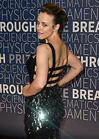 MOUNTAIN VIEW, CA - NOVEMBER 04: Rachel McAdams attends the 7th Annual Breakthrough Prize Ceremony at NASA Ames Research Center on November 4, 2018 in Mountain View, California. <br /> CAP/MPI/SPA<br /> &copy;SPA/MPI/Capital Pictures